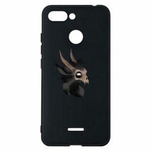 Etui na Xiaomi Redmi 6 Hyena in the skull