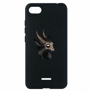 Etui na Xiaomi Redmi 6A Hyena in the skull