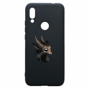 Etui na Xiaomi Redmi 7 Hyena in the skull
