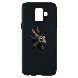 Etui na Samsung A6 2018 Hyena in the skull