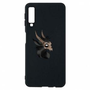 Etui na Samsung A7 2018 Hyena in the skull