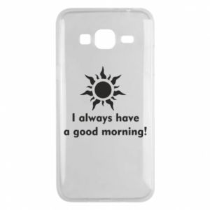 Etui na Samsung J3 2016 I always have a good morning
