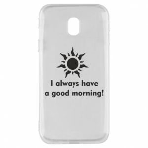 Etui na Samsung J3 2017 I always have a good morning