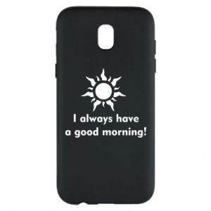 Etui na Samsung J5 2017 I always have a good morning