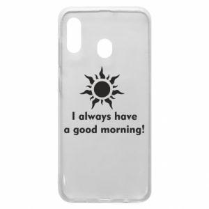 Etui na Samsung A30 I always have a good morning