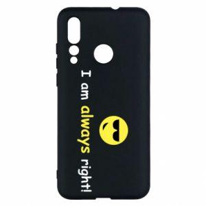 Etui na Huawei Nova 4 I am always right!