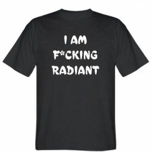 Koszulka męska I am fucking radiant