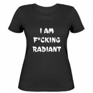 Koszulka damska I am fucking radiant