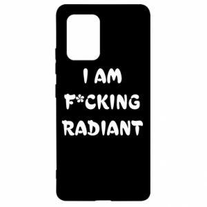 Etui na Samsung S10 Lite I am fucking radiant