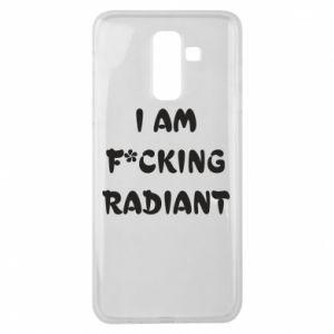 Etui na Samsung J8 2018 I am fucking radiant