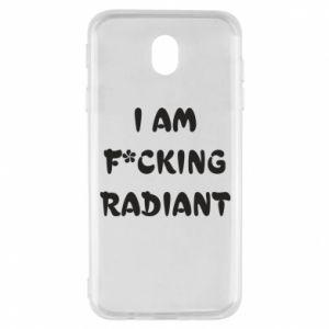 Etui na Samsung J7 2017 I am fucking radiant