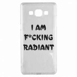 Etui na Samsung A5 2015 I am fucking radiant