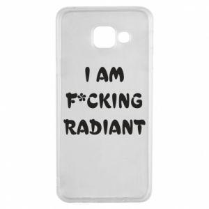 Etui na Samsung A3 2016 I am fucking radiant