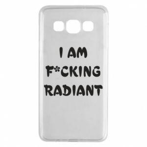 Etui na Samsung A3 2015 I am fucking radiant