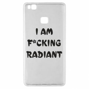 Etui na Huawei P9 Lite I am fucking radiant
