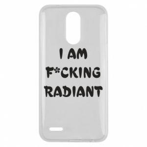 Etui na Lg K10 2017 I am fucking radiant