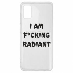 Etui na Samsung A41 I am fucking radiant