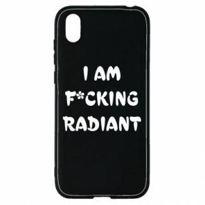 Etui na Huawei Y5 2019 I am fucking radiant