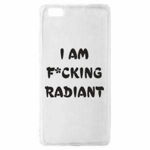 Etui na Huawei P 8 Lite I am fucking radiant