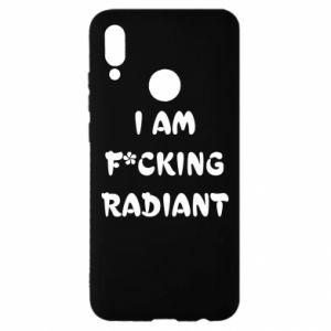 Etui na Huawei P Smart 2019 I am fucking radiant
