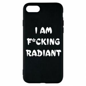 Etui na iPhone SE 2020 I am fucking radiant