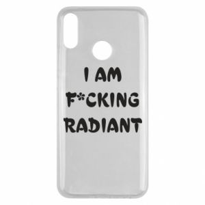 Etui na Huawei Y9 2019 I am fucking radiant