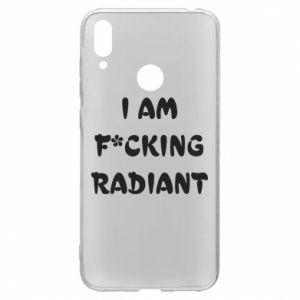 Etui na Huawei Y7 2019 I am fucking radiant