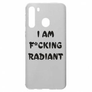 Etui na Samsung A21 I am fucking radiant