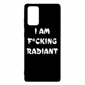 Etui na Samsung Note 20 I am fucking radiant