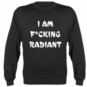 Bluza (raglan) I am fucking radiant