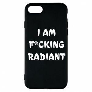 Etui na iPhone 7 I am fucking radiant