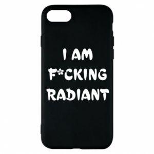 Etui na iPhone 8 I am fucking radiant