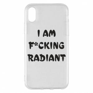 Etui na iPhone X/Xs I am fucking radiant