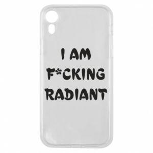 Etui na iPhone XR I am fucking radiant
