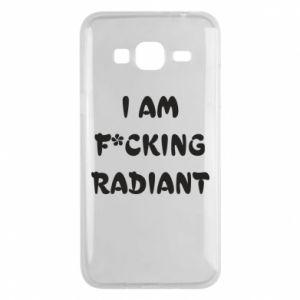 Etui na Samsung J3 2016 I am fucking radiant