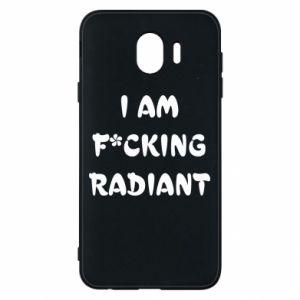 Etui na Samsung J4 I am fucking radiant