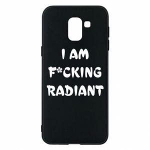 Etui na Samsung J6 I am fucking radiant
