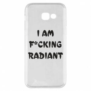 Etui na Samsung A5 2017 I am fucking radiant