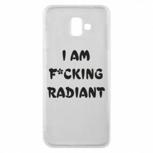 Etui na Samsung J6 Plus 2018 I am fucking radiant
