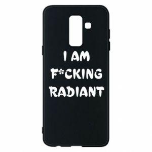 Etui na Samsung A6+ 2018 I am fucking radiant