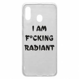 Etui na Samsung A20 I am fucking radiant