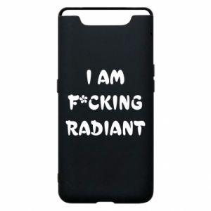 Etui na Samsung A80 I am fucking radiant