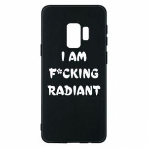 Etui na Samsung S9 I am fucking radiant