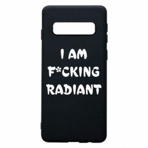 Etui na Samsung S10 I am fucking radiant