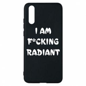 Etui na Huawei P20 I am fucking radiant