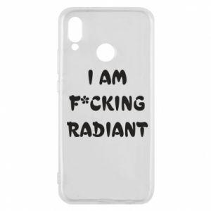 Etui na Huawei P20 Lite I am fucking radiant