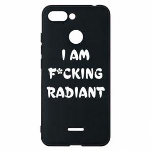 Etui na Xiaomi Redmi 6 I am fucking radiant