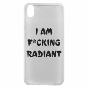 Etui na Xiaomi Redmi 7A I am fucking radiant