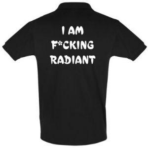 Koszulka Polo I am fucking radiant
