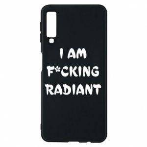 Etui na Samsung A7 2018 I am fucking radiant